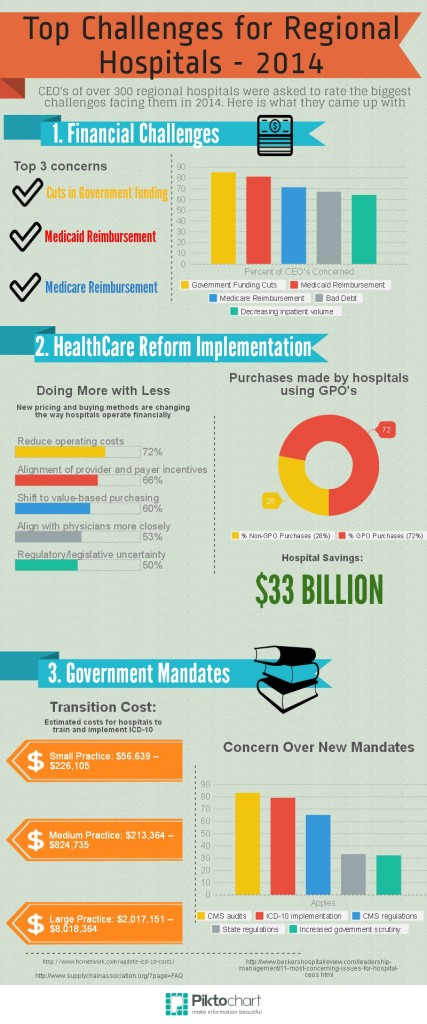 Top Challenges for Regional Hospitals 2014