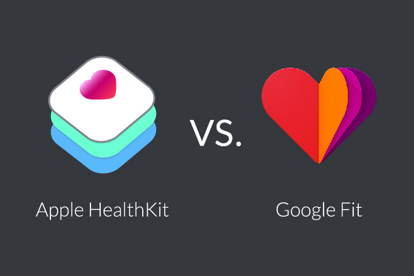 google fit vs apple healthkit wearable tech