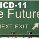 ICD-11 The Future freeway sign