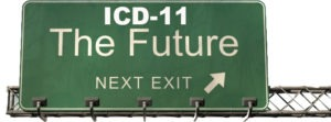 ICD-11 The Future freeway sign