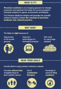 Outline of the Precision Medicine Initiative