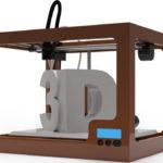 "A ""Cartoon"" image of a 3D Printer."