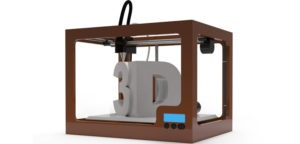 "A ""Cartoon"" image of a 3D Printer."