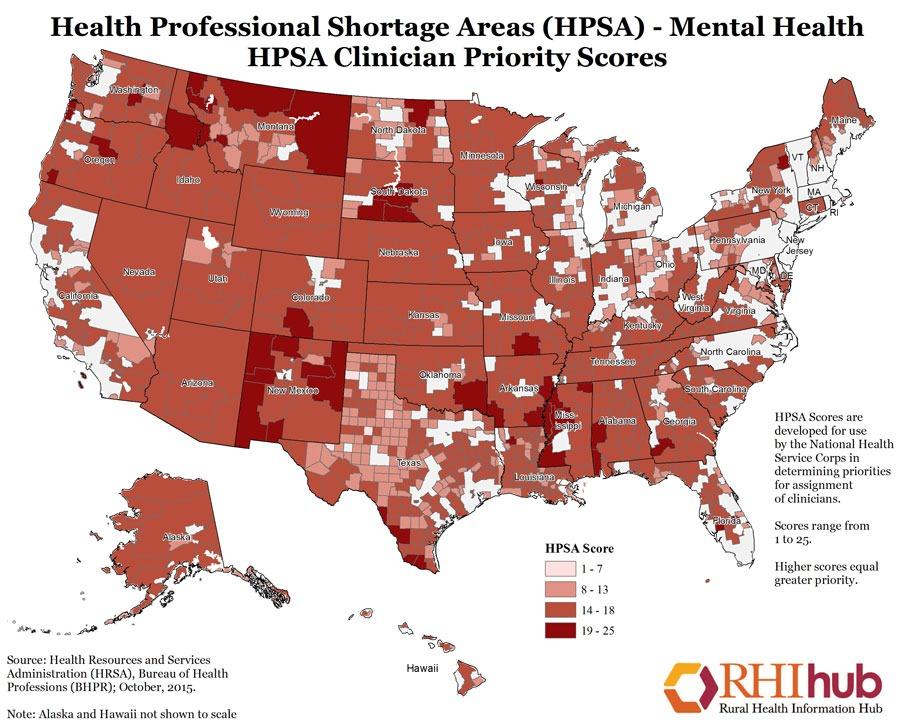 HSPA Mental Clinician Scores
