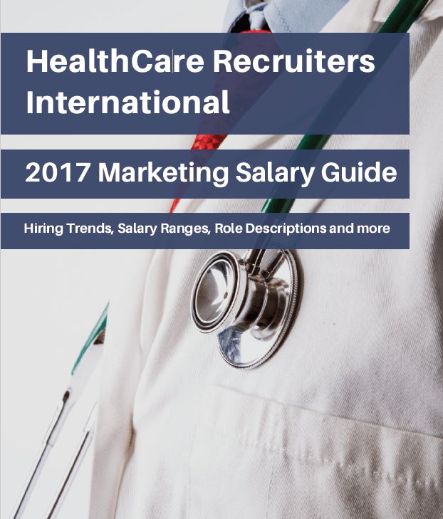 HealthCare Recruiters International 2017 Marketing Salary Guide_Cover