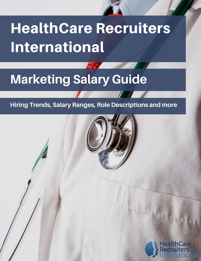 HealthCare Recruiters International Marketing Salary Guide_Cover